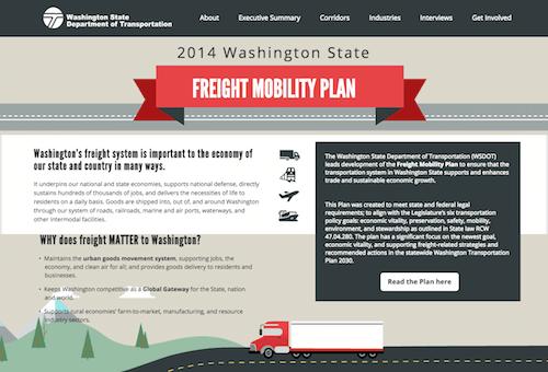 wsdot freight mobility 2014