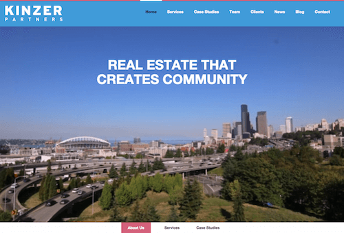 kinzer.com website