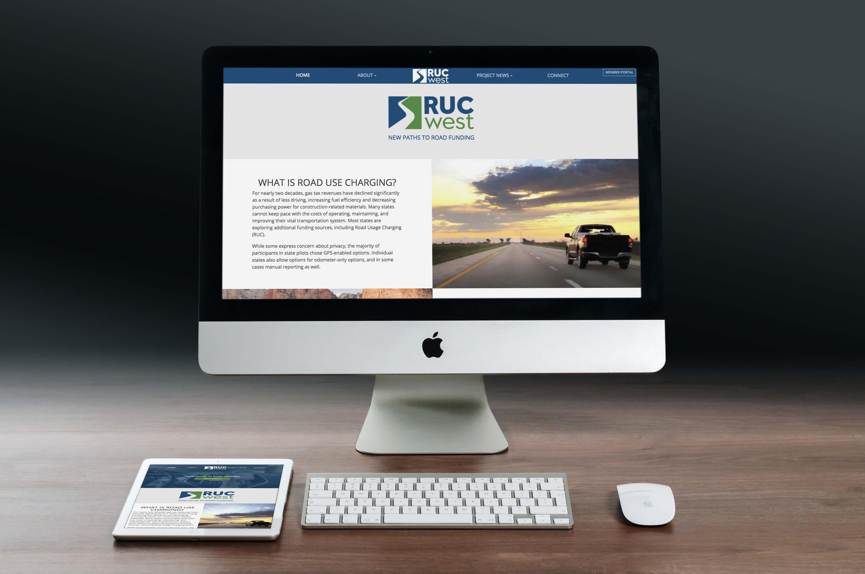rucwest.org mockup