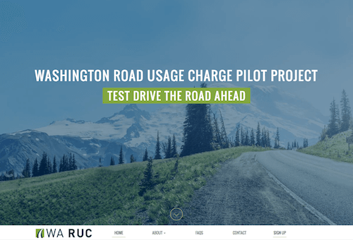 WA RUC - Washington Road Usage Charge Pilot Project