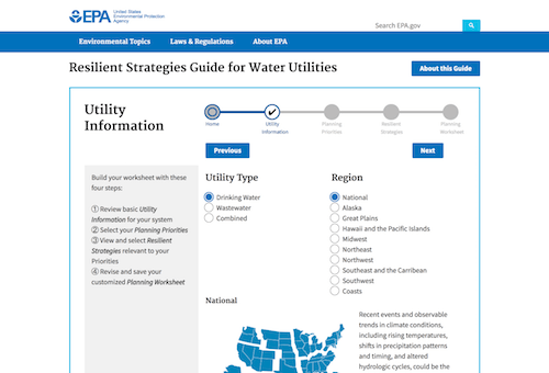 EPA Resilient Strategies Guide for Water Utilities